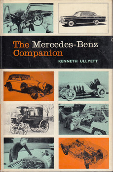 The Mercedes-Benz companion (Hardcover, by Kenneth Ullyett, 1966)