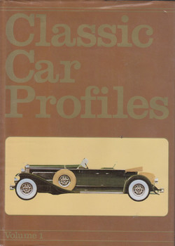 Classic Car Profiles: Vol. 1 (A Foulis book by Anthony Bird)