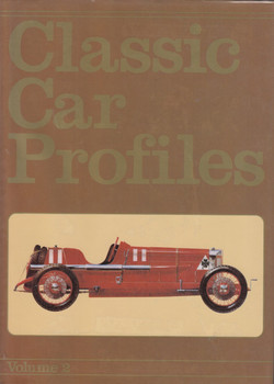 Classic Car Profiles: Vol. 2 (A Foulis book by Anthony Bird)