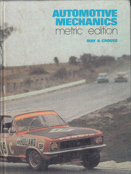 Automotive Mechanics Metric Edition 1974 (9780070931985)