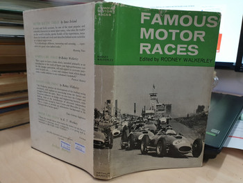 Famous Motor Races (1963, 1st ed, Rodney Walkerley, Hardcover)