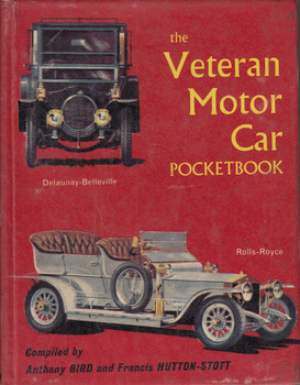 The Veteran Motor Car Pocketbook (Hardcover, 1963, Anthony Bird)