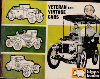 Veteran and Vintage Cars (Hippo books no.9 by Peter Roberts) (B0000CLHLJ)