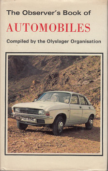 The Observer's Book of Automobiles (Compiled by Olyslager Organisation, 1974)