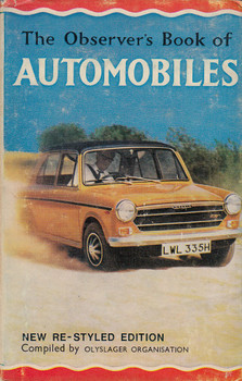 Observer's Book of Automobiles (Compiled by Olyslager Organisation, 1970)