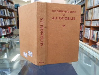 The Observer's Book of Automobiles (Richard T Parsons, 1956)