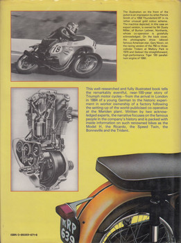 Story of Triumph Motor Cycles (Harry Louis and Bob Currie, Hardcover, 1983) (9780850596717)