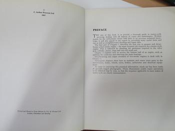 Motorcycle Maintenance Illustrated (Graham Forsdyke, 1967)