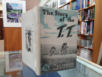 The Story of the T.T. (by G. S. Davison, 1947, 1st Ed. Hardcover)