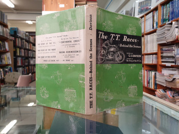 The T.T. Races - Behind the Scenes by (G.S. (ed) Davison, 1949, 1st Ed)