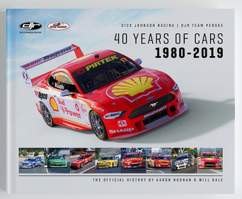 Dick Johnson Racing / DJR Team Penske 40 Years of Cars 1980-2019