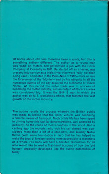 Milestones In A Motoring Life - Dudley Noble (Hardcover, 1969)