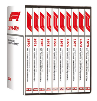 F1 1970 - 1979 - The Official Reviews of the FIA Formula One World Championship 10 DVD Box Set
