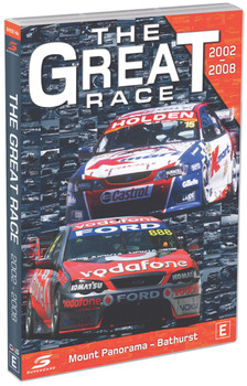 The Great Race 2002 to 2008 Supercars DVD