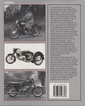 British Motor Cycles Since 1950 Volume 4 (Steve Wilson) (9780850598308) (view)