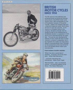 British Motor Cycles Since 1950 Volume 5 (Steve Wilson) (9781852600211)