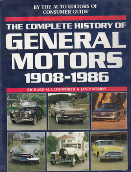 Complete History Of General Motors 1908-1986 (9780517604137)