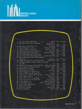 Lotus Seven 1957-1980 Road Tests (9780907073130)