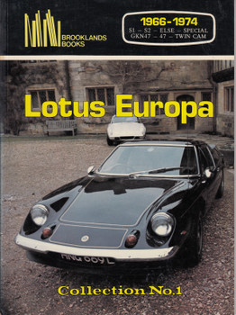 Lotus Europa 1966-1974 Road Tests (Collection No 1) (0907073492)