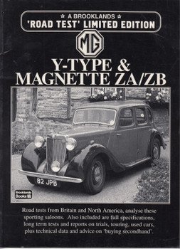 MG Y-Type & Magnette ZA/ZB Limited Edition Road Tests (9781855203471)
