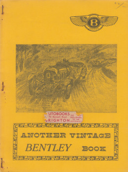 Another Vintage Bentley Book (John Dowdeswell) (B0030OV1L0)