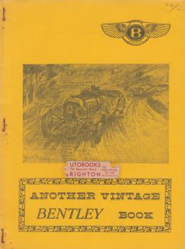 Another Vintage Bentley Book (John Dowdeswell) (B0030OV1L0)