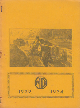 MG Cars 1929-1934 Road Tests (B002MYXFWM)