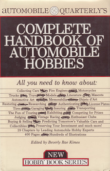 Automobile Quarterly's Complete Handbook Of Automobile Hobbies (1st Edn. 1981) (9780915038282)