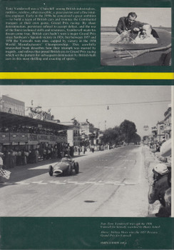 Vanwall - The Story Of Tony Vandervell And His Racing Cars (Denis Jenkinson & Cyril Posthumus) 1st Edn. 1975 (9780850591699)