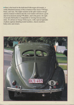 Vintage Volkswagens (Flat 4 Project) 1st Edn. 1985 (9780877013570) (view