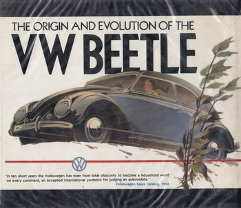 The Origin And Evolution Of The VW Beetle (Automobile Quarterly) 1st Edn. 1985 (9780915038459)