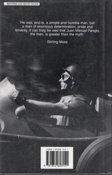 Fangio - My Racing Life (Juan Manuel Fangio with Roberto Carozzo) 1992 Reprint (9781852603151)