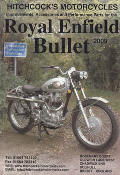 Royal Enfield Bullet 2009 Parts Catalogue (Hitchcock's Motorcycles) (RE2009)