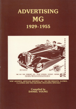 Advertising MG 1929-1955 (Comp.Daniel Young) 1st Edn. 1989 (B0028KJSEE)