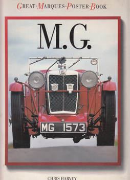 MG - Poster Book (Chris Harvey) Paperback, 1st Edn 1985 (9780706423402)