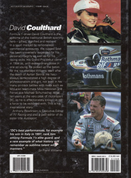 David Coulthard - His decade in Formula 1 (Andy Rowlinson) 1st Edn. 2004 (9781844250356)