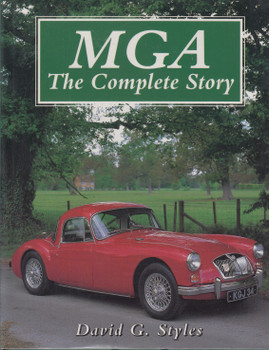 MGA - The Complete Story (David G.Styles) Hardcover, 1st Edn. 1995 (9781852239091)