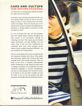 Cars And Culture - Our Driving Passions (Ed. Charles Pickett) Paperback 1st Edn. 1998 (9780732266172)