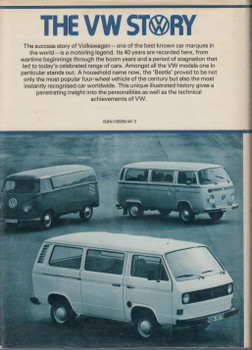The VW Story (Jerry Sloniger) Hardcover 1st Edn. 1980 (9783879437375)