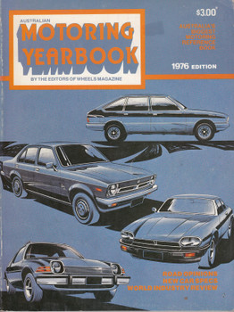 Australian Motoring Yearbook 1976 Edition (Softbound) (B25100B)