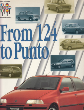 From 124 to Punto - Three Decades Car Of The Year (Fiat) (PUNTO124)