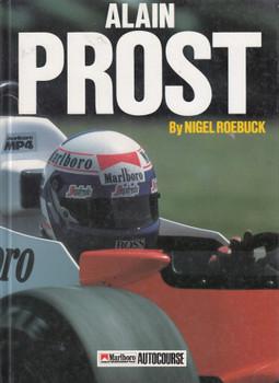 Alain Prost (Nigel Roebuck) Driver Profiles Hardcover 1st Edn. 1990 (9780905138695)
