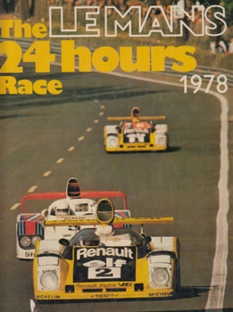 The Le Mans 24 Hours Race 1978 (English) Hardcover 1979 (9780851845005)