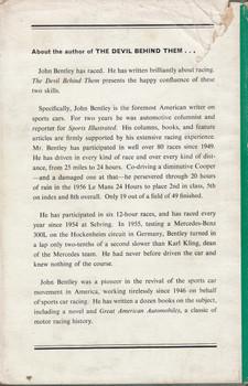 The Devil Behind Them - Nine Dedicated Drivers Who Made Motor Racing History (John Bentley) Hardcover 1st Edn. 1959 (B0000CKDI8)