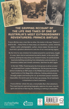 Francis Birtles - Australian Adventurer (Warren Brown) Paperback 1st Edn. 2012 (9780733628672)