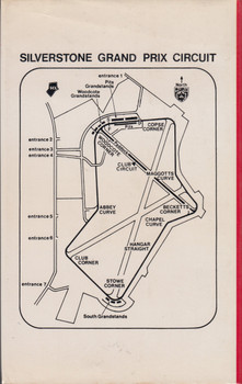 Silverstone - The Story of Britain's Fastest Circuit (Peter Carrick) Hardcover 1st Edn. 1974 (9780720707175)