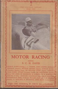 Motor Racing - Lonsdale Library Volume XXXIII (Ed. S.C.H. Davis) Hardcover (LONMRXXXIII)