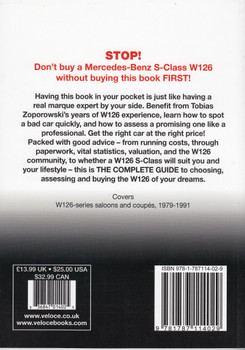 Mercedes-Benz S-Class W126 series 1979 to 1991 - The Essential Buyer's Guide (9781787114029)