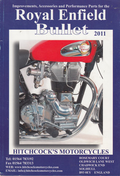 Royal Enfield Bullet 2011 Parts Catalogue (Hitchcock's Motorcycles) (RE2011)
