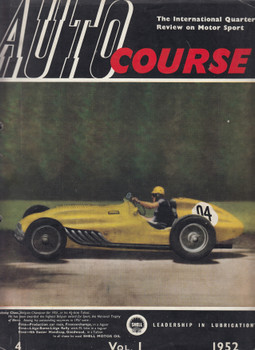 Autocourse 1952 Volume 1 (Number 4) Paperback 1952 (B00G5Q61AG)